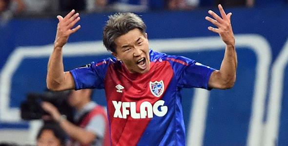FC東京前锋永井謙佑近5轮联赛攻入5球之多。